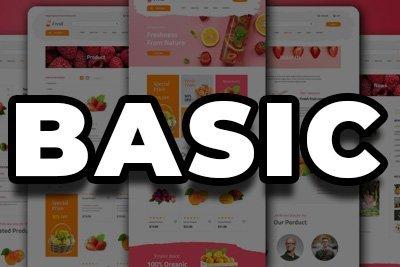 E-Commerce Web Design | Basic Package