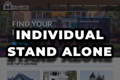 Individual Realtor| Stand Alone Website