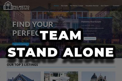 Team Realtor| Stand Alone Website